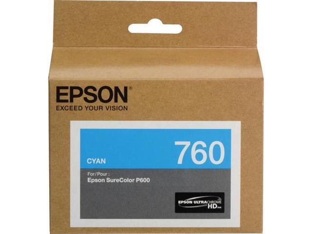 EPSON T760220 T760 Ultrachrome HD Cyan Ink