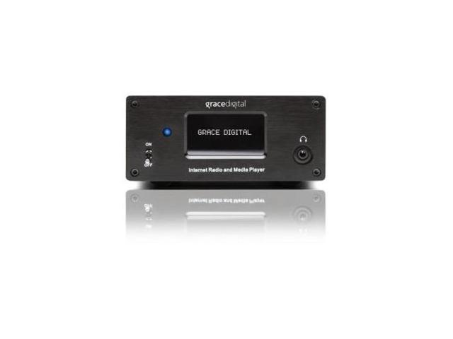 GRACE DIGITAL AUDIO GDIIRMSAMP Grace Digital GDI-IRMSamp Internet Radio - Wireless LAN - BlackInternet Streaming - MP3, AAC, AIFF, WMA, ASX, M3U, ...