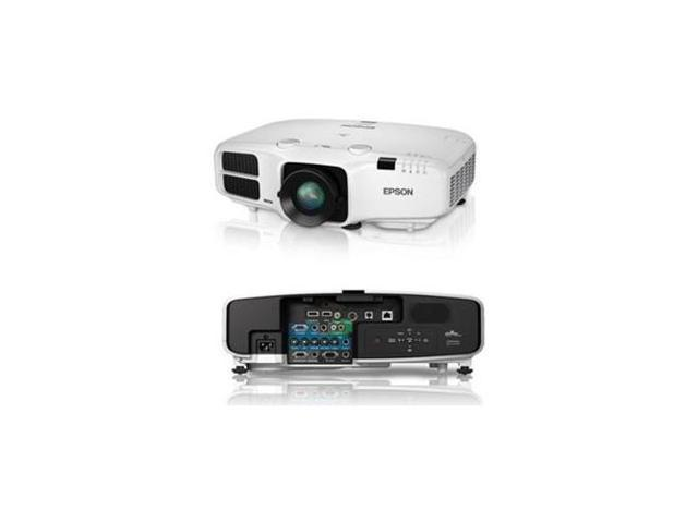 EPSON V11H544020 PowerLite 4750W 3D Ready LCD Projector - 720p - HDTV - 16:10 /F/1.5 - 2.14 - SECAM, NTSC, PAL - 1280 x 800 ...