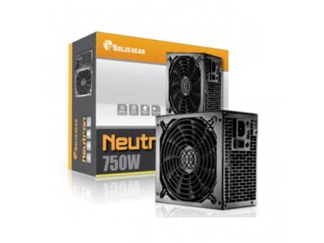 SOLID GEAR SDGR-750E Solid Gear SDGR-750E 750W PS2 ATX12V v2.3 and EPS12V v2.91 Power Supply (Black)