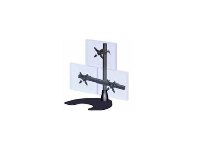 ERGOTECH 100-D28-B12 Triple LCD Monitor Desk Stand