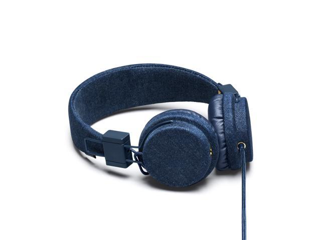 Urbanears Plattan Plus Denim Headphones iPhone Mic Remote ZoundPlug 04090626
