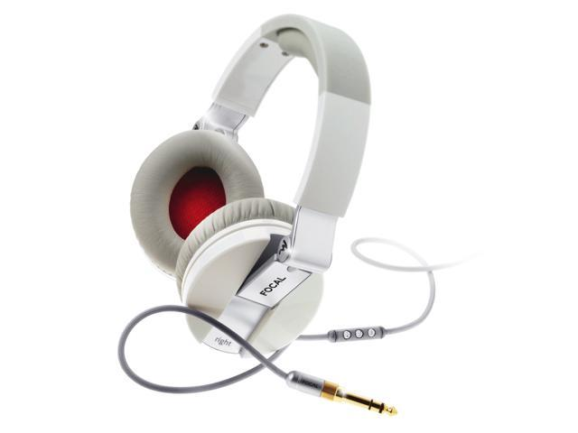 Focal Spirit One White Headphone iPhone Mic Remote New Authorized Dealer