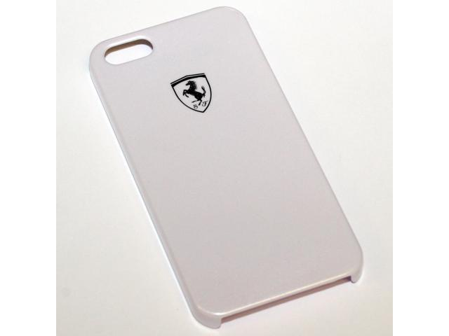 Ferrari iPhone 5 / 5S High Gloss White Cell Phone Case by CG Mobile FESIHCP5WH