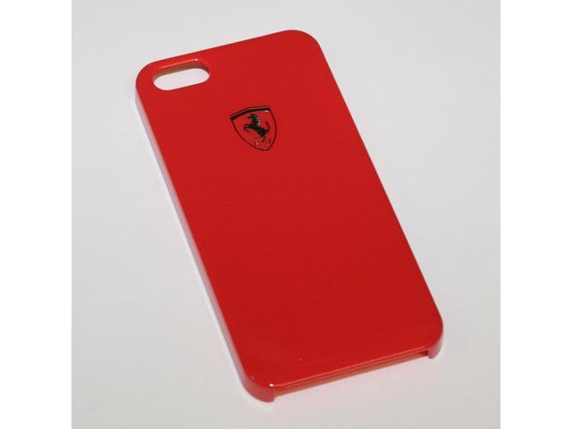 Ferrari iPhone 5 / 5S High Gloss Red Cell Phone Case by CG Mobile FESIHCP5RE