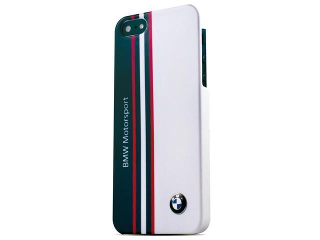CG Mobile BMW M iPhone 5 / 5S Motorsport White Hard Case - Genuine BMHCP5SST
