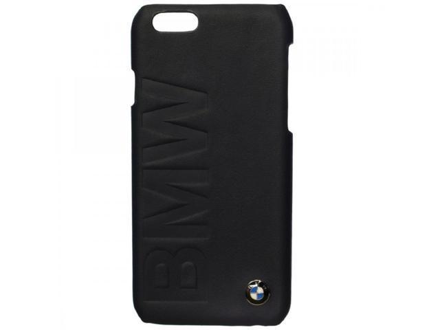 CG Mobile BMW iPhone 6+ 6 Plus Leather Debossed Hard Case Black BMHCP6LLOB-31