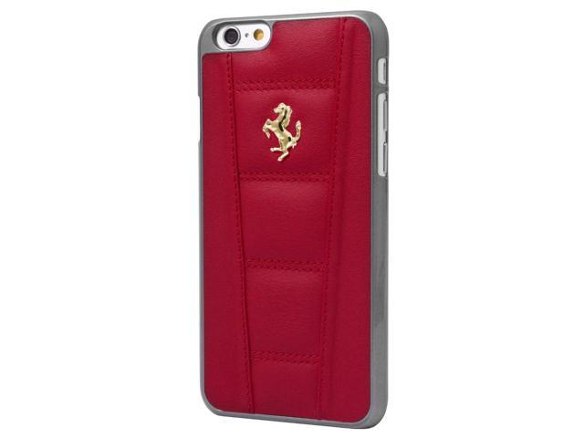 CG Mobile Ferrari Red Quilted Padded Leather iPhone 6 Hard Case FE458GHCP6RE