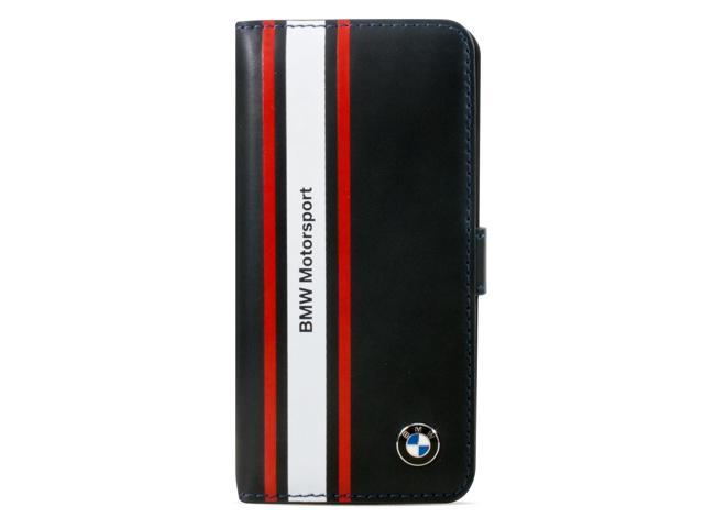 CG Mobile BMW M iPhone 5 / 5S Motorsport Leather Book Type Flap Case - BMFLHP5SN