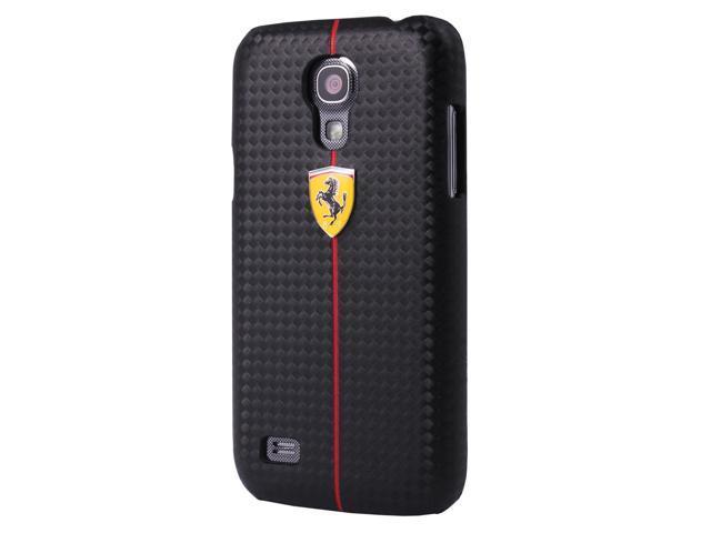 CG Mobile Ferrari Carbon Fiber Effect Hard Case Galaxy S4 FEFOCHCS4BL