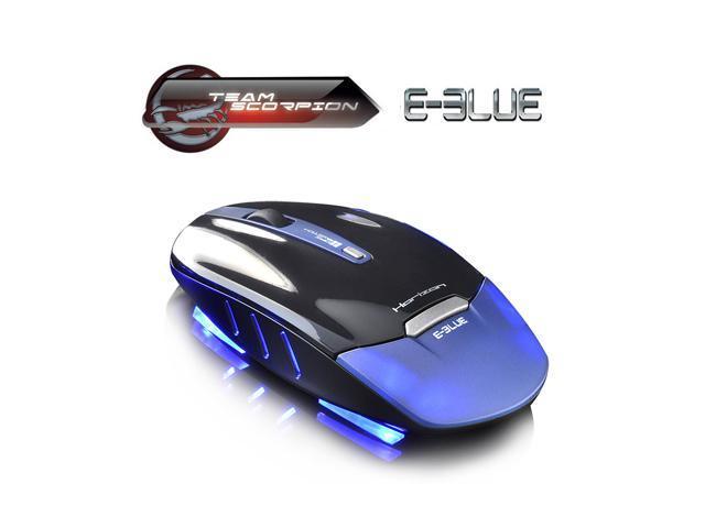 2.4GHz 1750DPI E-3lue Horizon SlimBlade Portable Gaming Mouse Usb Optical Mouse Wireless Mouse