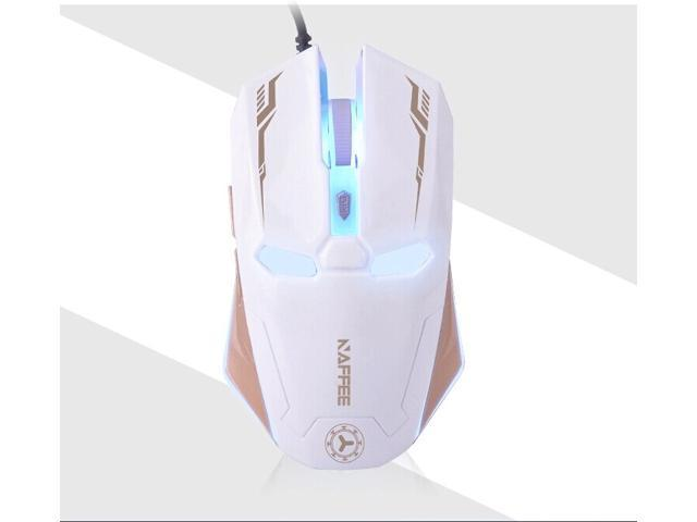 2014 Iron Man 2400DPI 6D NAFFEE G5S 6 Buttons X3 Optical Usb Professional Gaming Mouse for RAZER CS CF FPS LOL WOW