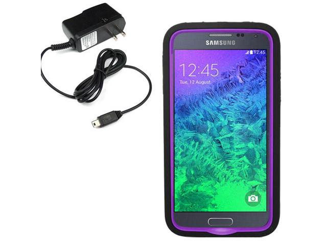 Tough Hard Shell Stand Cover Case Samsung Galaxy S 5 Prime G906 Travel Charger