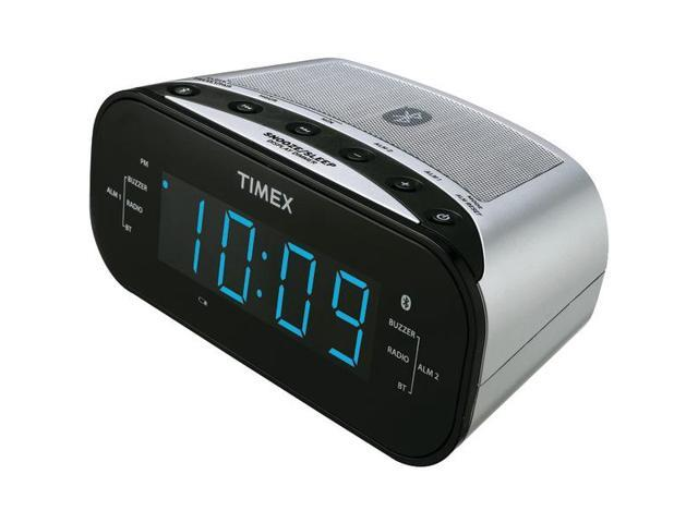 IHOME T331S Bluetooth(R) Clock Radio with 1.2