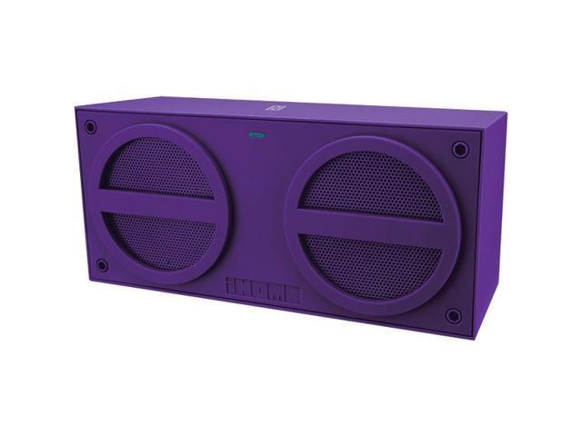 iHome Speaker System - Wireless Speaker(s) - Purple