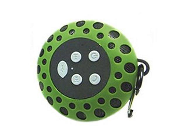 Bluetooth speaker with clip GREEN