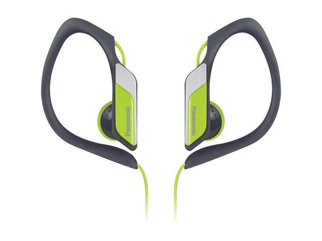 PANASONIC RP-HS34M-Y Sport Clip HS34 Headphones with Microphone (Yellow)