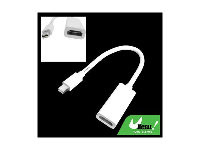 Laptop Male Mini DisplayPort DP to Female HDMI Adapter Cable