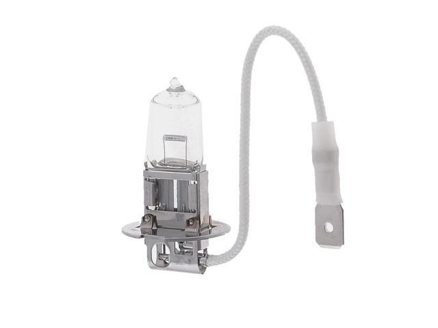 Auto DC 12V 100W Warm White H3 Halogen Headlight Lamp Bulb Light