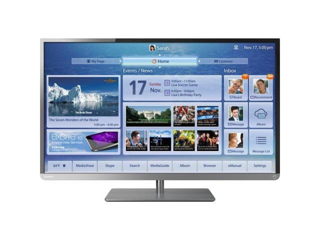 Toshiba 39L4300UB 39 Inch Clearscan 1080p, 120HZ LED, Cloud TV Thin stand