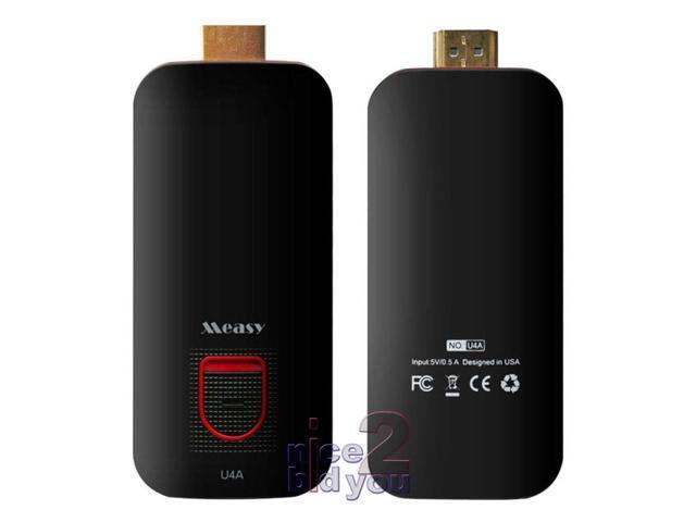 Measy U4A Quad Core RK3188 1.6GHz Android 4.2 Mini PC TV Dongle Stick Box Bluetooth HDMI WiFi FULL HD 1080P Media Player