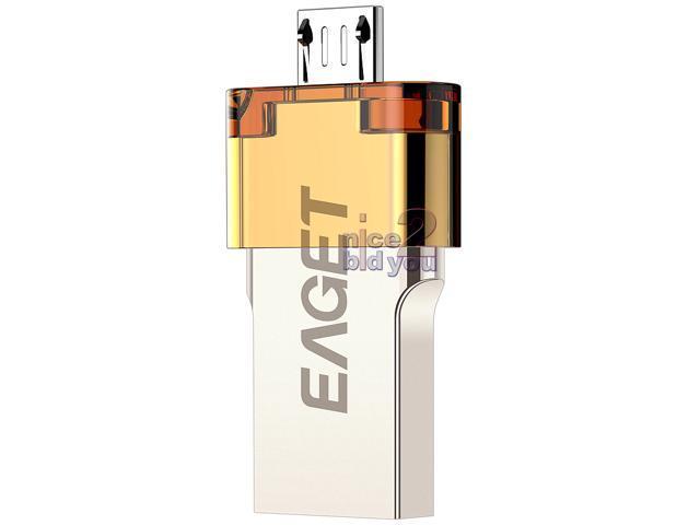 EAGET V80 USB 3.0 16GB USB3.0 Flash Drive Waterproof OTG Android Mobile Smartphone Tablet PC Tab