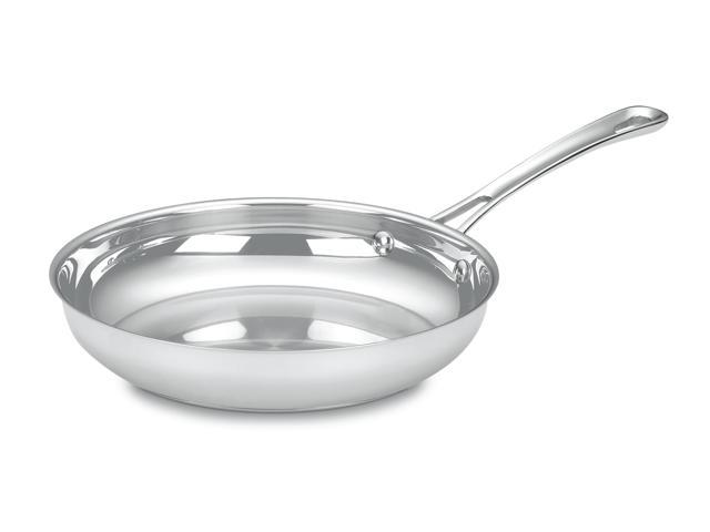 Cuisinart 422-24 Contour Stainless Open Skillet with Helper Handle