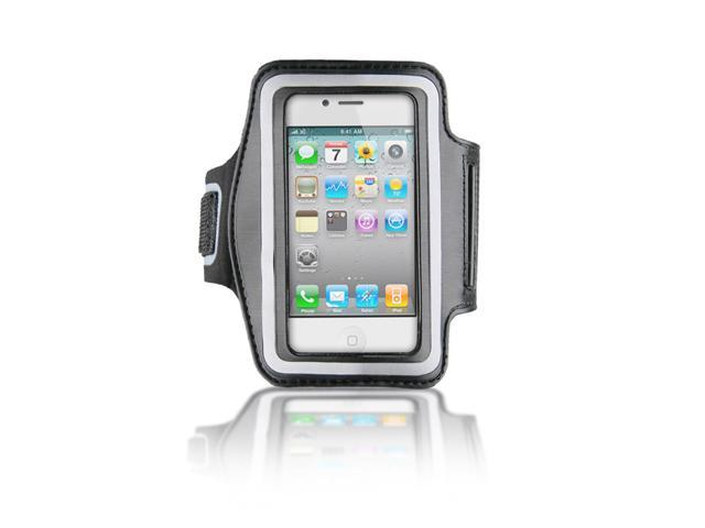 Naztech Sports Armband for Apple iPhone 3G 3GS 4 4S and other PDAs- Black