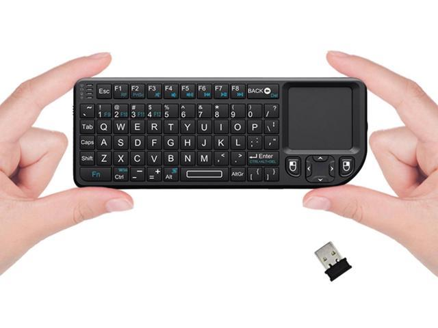 Favi Mini Keyboard with Laser Pointer - Black (FE01-BL)