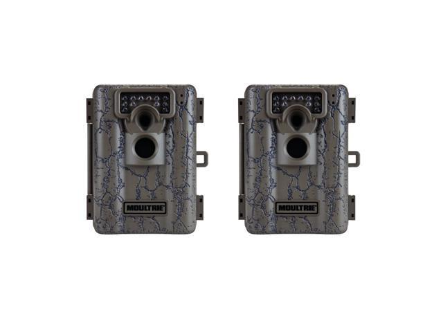 Moultrie Game Spy A-5 Low Glow 5MP Infrared Digital Game Camera (Set of 2)