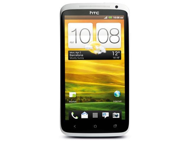 HTC One X 16GB Unlocked GSM Phone with Android 4.0 OS Audio Beats - White