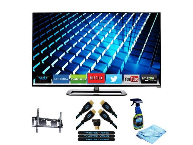 VIZIO M492i-B2 49-Inch 1080p Smart LED TV with Deluxe Television Accessory Kit