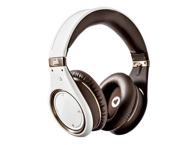 Polk Audio UltraFocus 8000 3.5mm Connector Over-Ear Active Noise Cancelling Headphone w/Apple Controls
