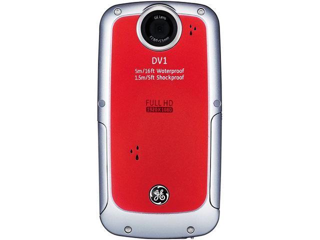 General Electric DV1 Waterproof/ Shockproof HD Digital Video Camera