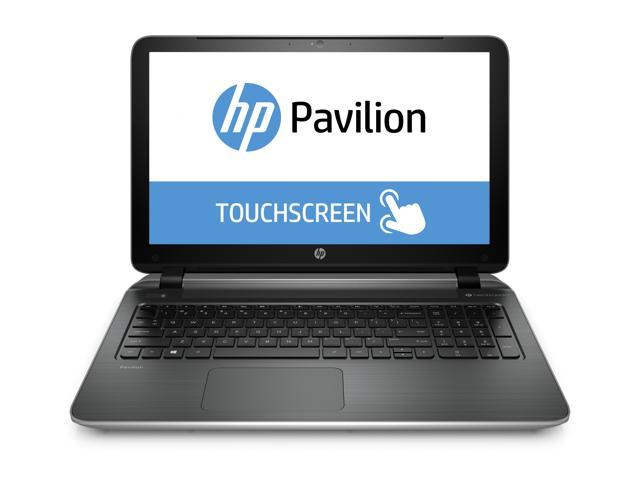 HP Pavilion TouchSmart 15-n225nr Notebook AMD A-Series A10-5745M (2.10GHz) 8GB Memory 750GB HDD AMD Radeon HD 8610G 15.6