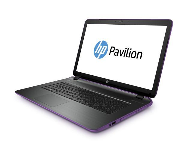 "HP Pavilion 17-f135ds 4th Gen Core i5 17.3"" HD+ Beats Audio Notebook (Neon Purple)"