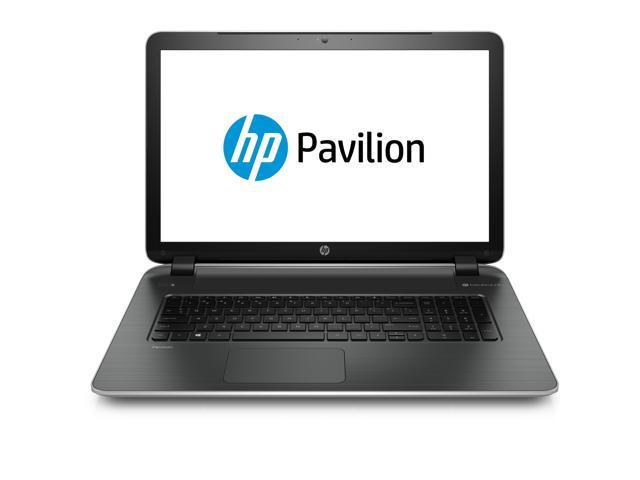 """HP Pavilion 17-f029wm 17.3"""" HD+ LED AMD A6 Quad-Core 750GB HDD Beats Audio Win 8.1 Laptop"""