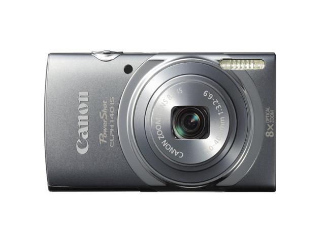 Canon PowerShot ELPH140 IS Digital Camera (Gray)