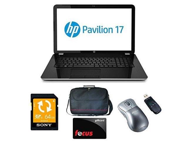 HP Pavilion 17-e135nr - AMD Quad-Core A8, 8GB, 1TB HD, DVD, 17.3