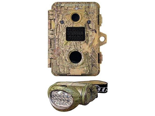 Spypoint BF-6 LED Infrared Digital Trail Game Camera 6MP with 10 LEDs Headlamp