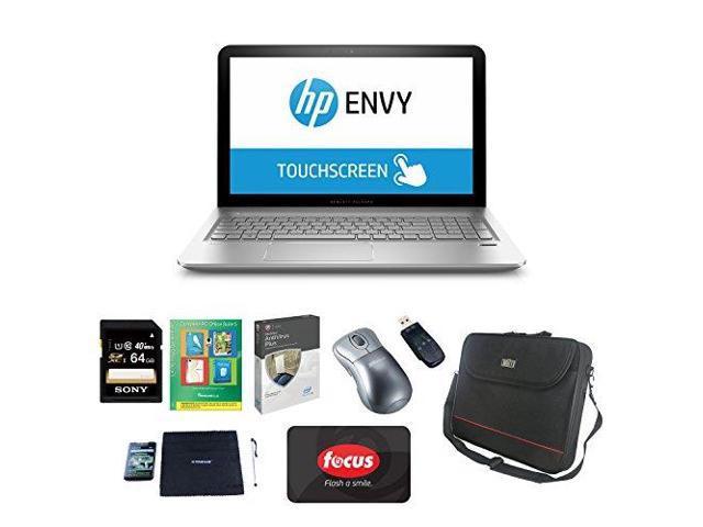 "HP ENVY 15.6"" TouchScreen, AMD A10, 12GB, Win 8.1 Productivity Bundle"