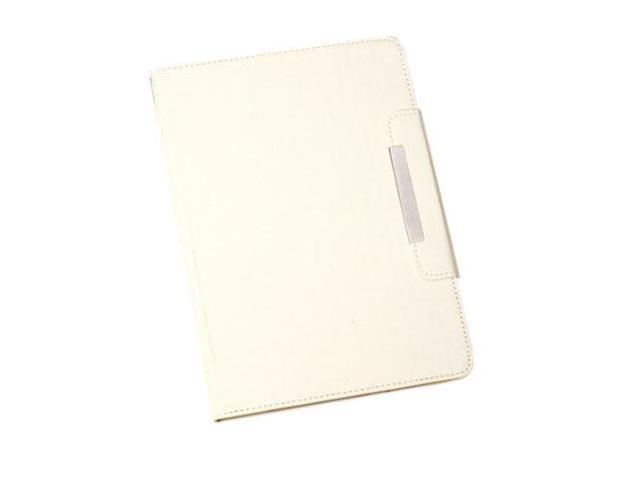 HJX White iPad Air New Fashion Luxury Flip PU Leather Stand Case Protective Cover for Apple iPad Air/iPad 5