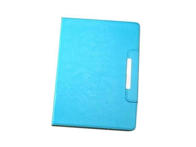 HJX Sky Blue iPad Air New Fashion Luxury Flip PU Leather Stand Case Protective Cover for Apple iPad Air/iPad 5