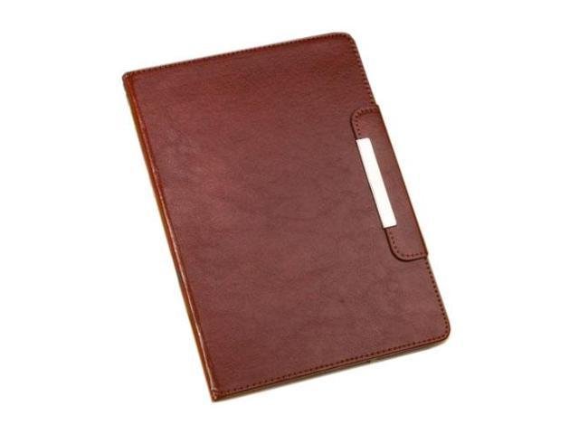 HJX Brown iPad Air New Fashion Luxury Flip PU Leather Stand Case Protective Cover for Apple iPad Air/iPad 5