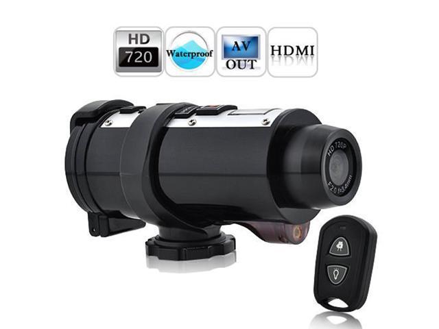 Flylink HD 720P Sports Action Helmet Cam Waterproof DVR Camera Recorder Remote control SD24