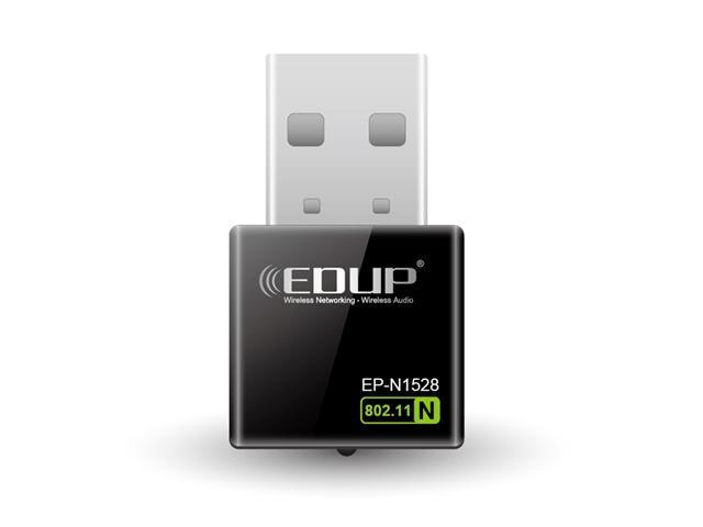 EDUP 2in1 Client / AP Mini 300M 300Mbps USB WiFi Wireless N LAN Network Adapter 802.11 n/g/b EP-N1528