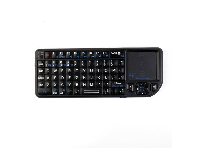 2.4GHz USB Rii Wireless Handheld Mini Keyboard Touchpad For TV Xbox PS3 CN116