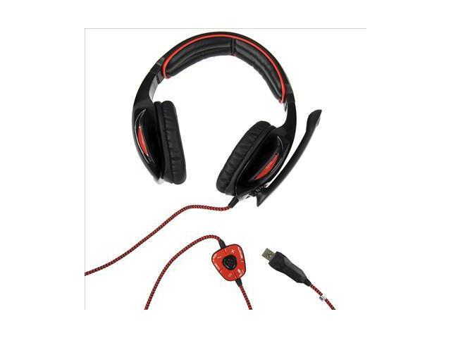 Sades SA902 USB Games 7.1 Surround Sound Effect Gaming Headphone Microphone IP89-NE1