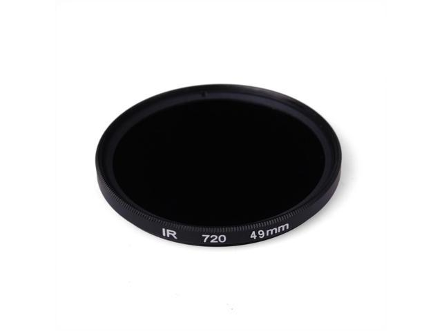 XCsource 49mm IR Infrared 720nm Filter Use In Indoor and Weak Light LF511