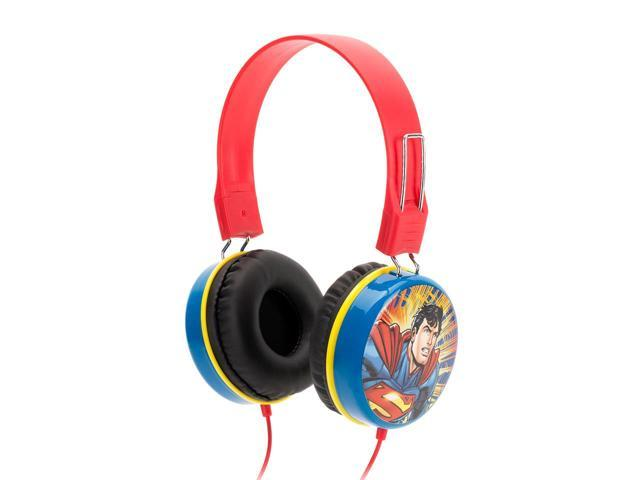 Griffin Justice League Superman Over the Ear Headphones Listen to music with the World's Greatest Super Heroes!